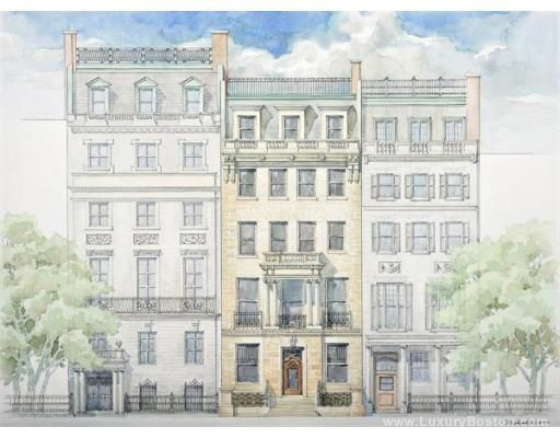 Luxury Boston Bradley Mansion Boston Condos