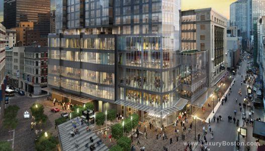 Luxury Boston Millennium Tower Boston New Construction