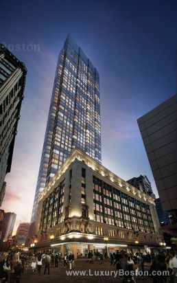 Luxury Boston Millennium Tower Boston New Construction