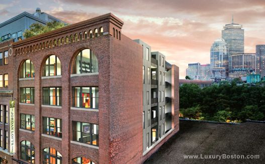 Pleasing Luxury Boston Jordan Lofts South End Loft Style Condos Beutiful Home Inspiration Ommitmahrainfo