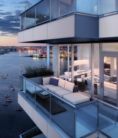 22 and 50 Liberty Condos at Fan Pier - Seaport