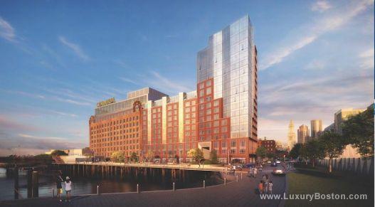 Luxury Boston Lovejoy Wharf New Construction