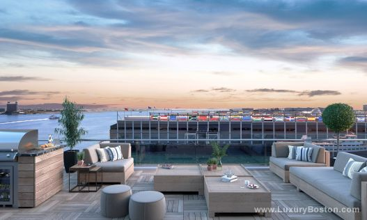 Luxury Boston Residences At Pier 4 Boston Pre
