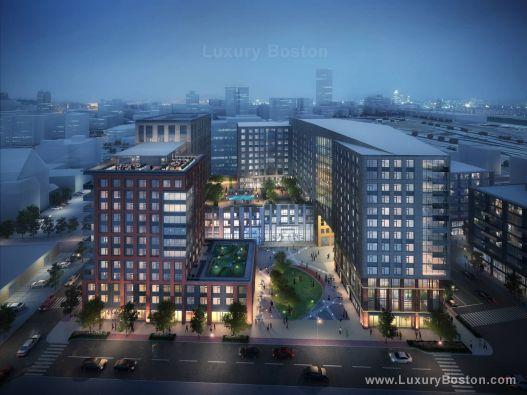Luxury Boston - 345 Harrison South End Luxury Apartments Boston Condos