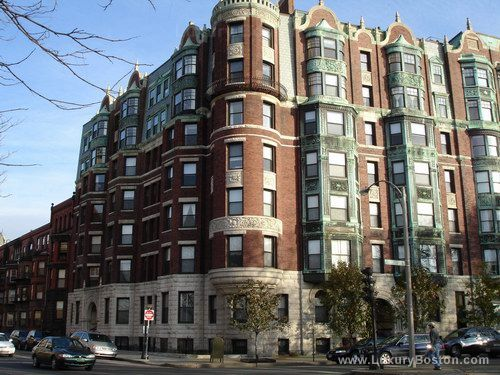 Apartment Building Boston luxury boston - charlesgate east - back bay boston condos